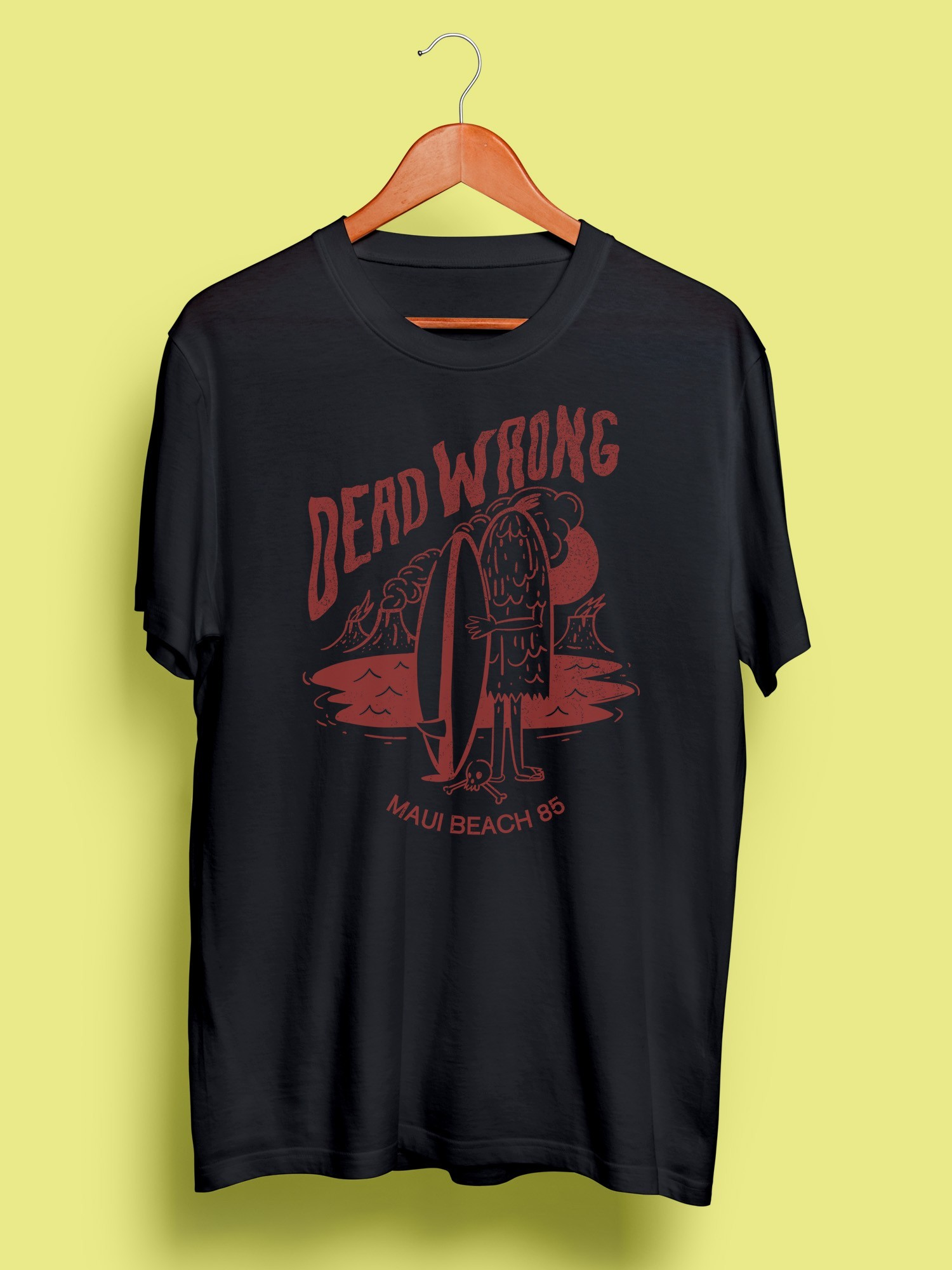Camiseta Capitán Dead Wrong Black