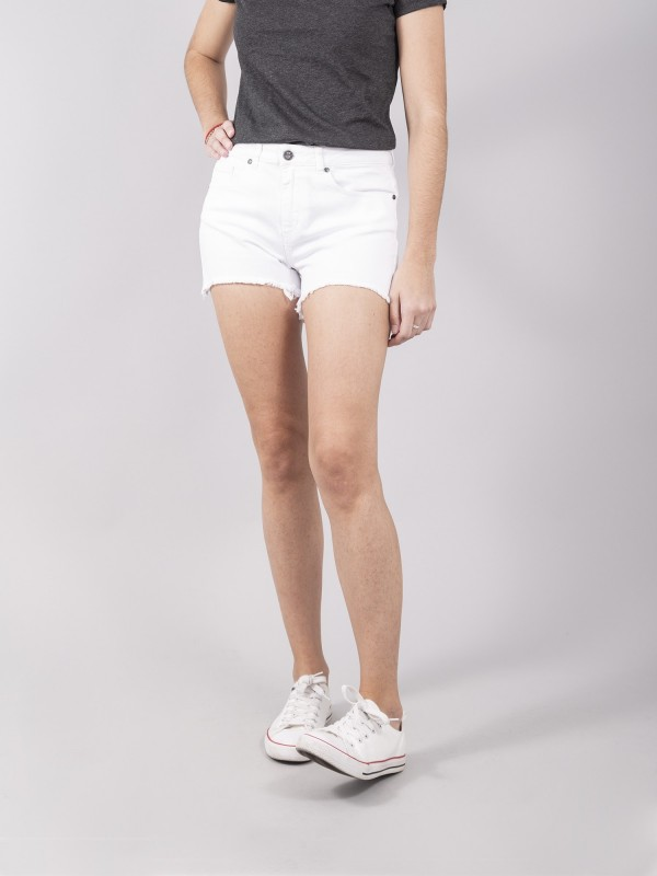 Shorts Sylvie White Denim