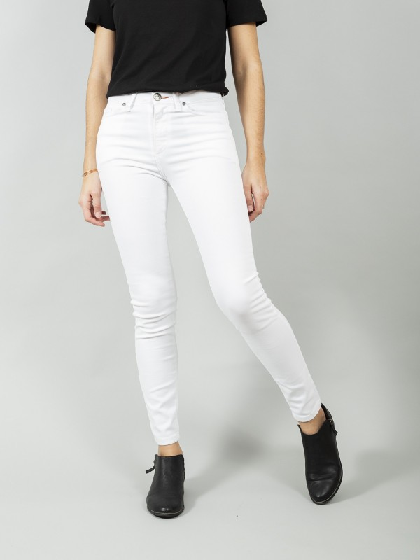 DENVER WHITE RECYCLED COTTON Skinny Denim