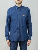 Camisa Buffalo Mid Blue Denim