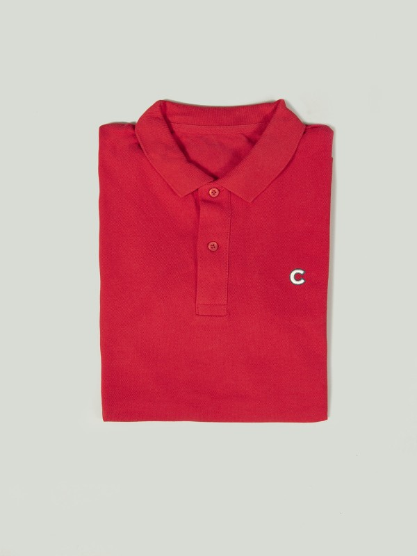 Polo CAP RED Organic Cotton