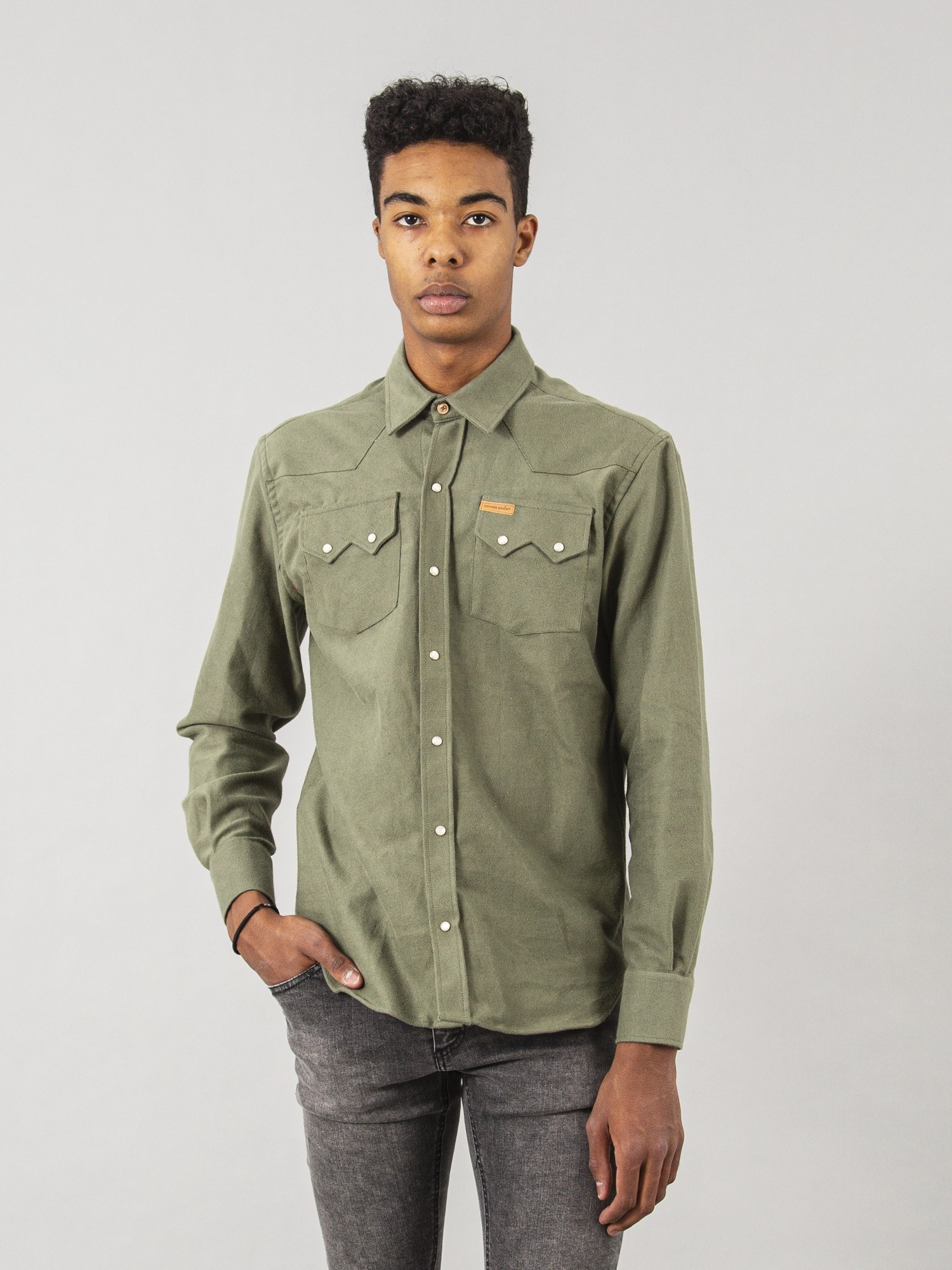 Camisa CROSBY Green Organic Cotton