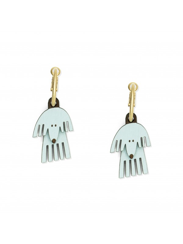 Pendientes Happy Tails Fluffy Fred