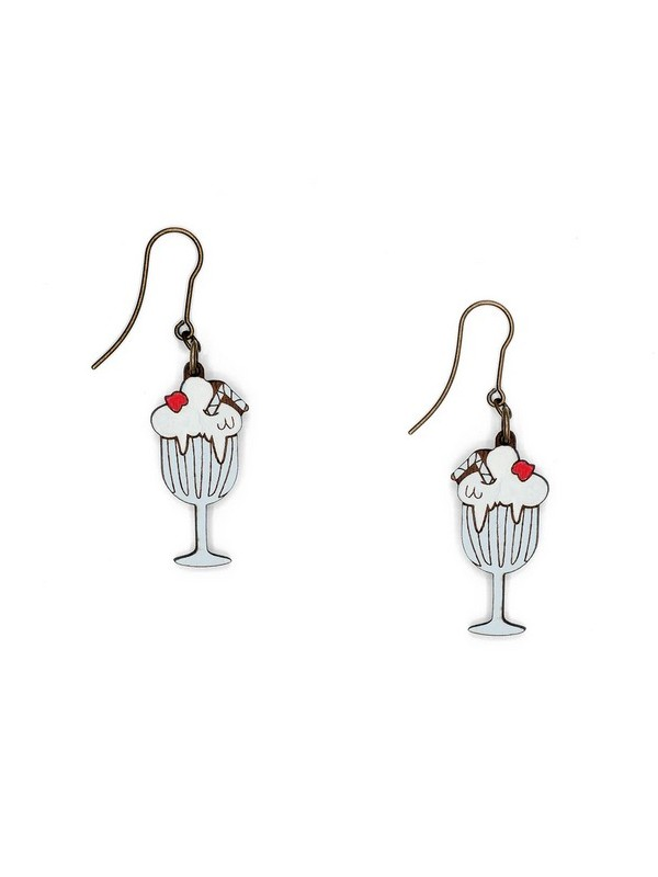 Pendientes Spark, Sketch & Wear Collection Milkshake