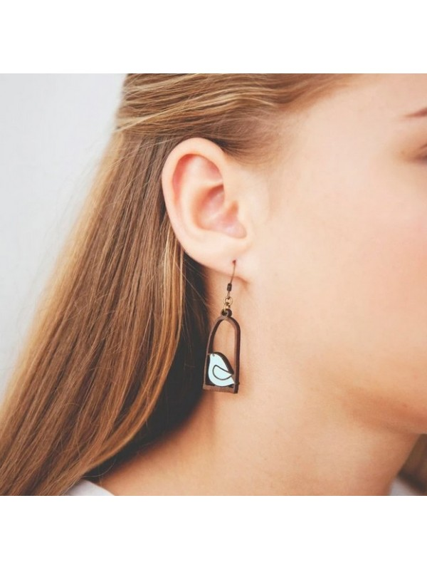 Pendientes Little Doves Collection Blue Freedom