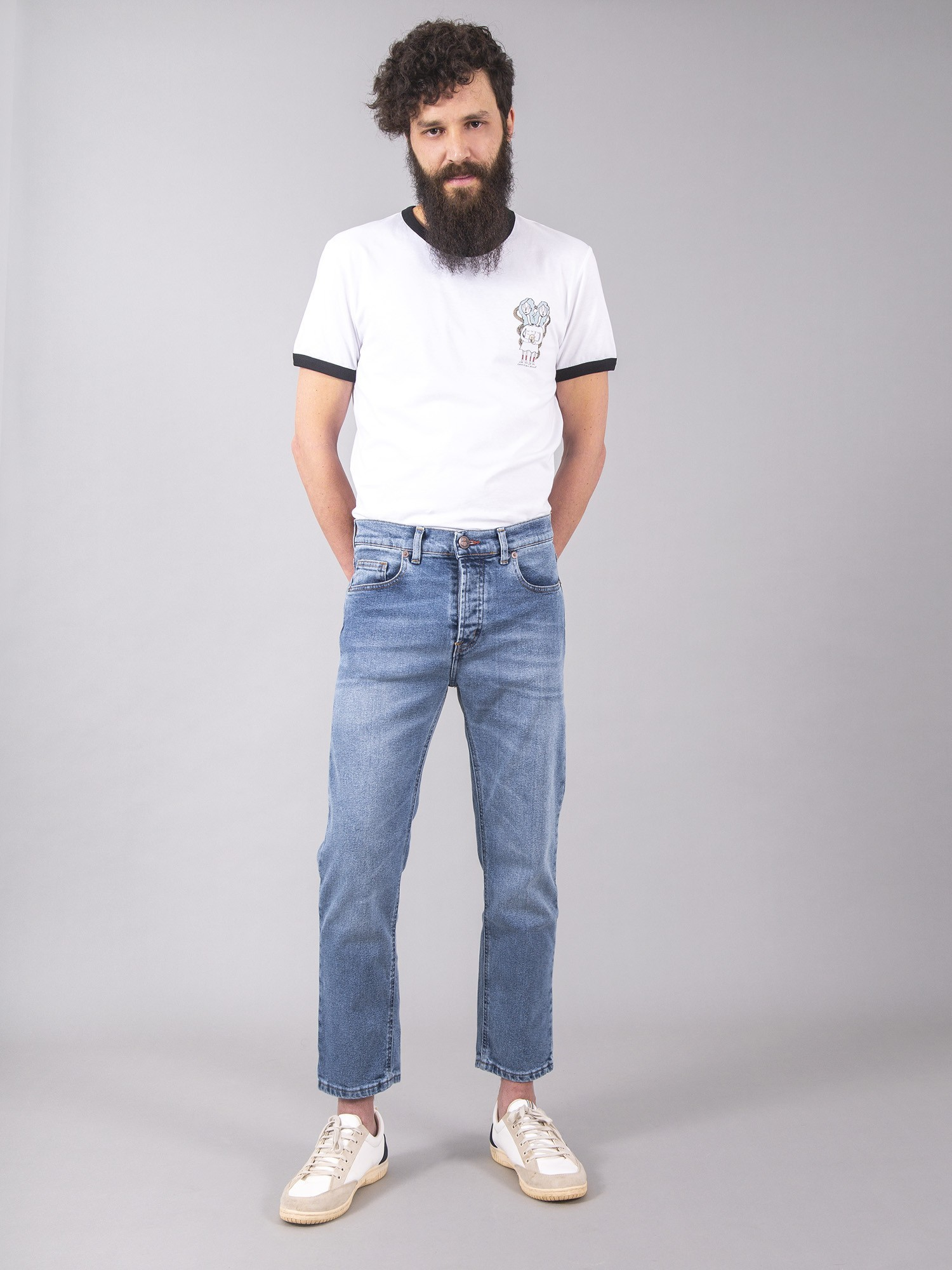 Russell Vintage Blue Carrot Fit